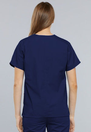 Cherokee Workwear Originals V-neck Top Navy