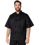S/S Unisex Classic Knot Button Chef Coat