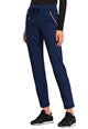 Mid Rise Straight Leg Drawstring Pants Navy