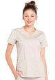 WW Professionals Mock Wrap Top