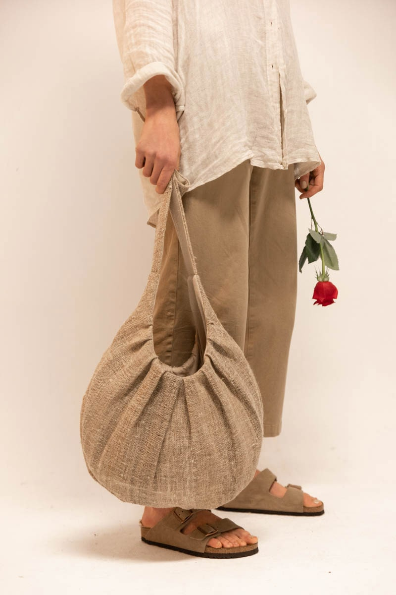 Chitwan Bag 100% Hemp Natural