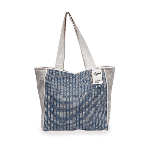 Shopper Api- Mix Hemper Azul