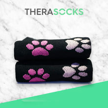Load image into Gallery viewer, TheraSocks Knee High - Pawesome Pink - TheraWear