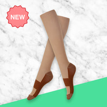 Load image into Gallery viewer, TheraSocks Copper Infused - Natural Skin - TheraWear