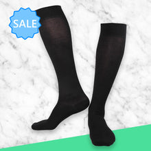 Load image into Gallery viewer, TheraSocks Knee High - Black - TheraWear