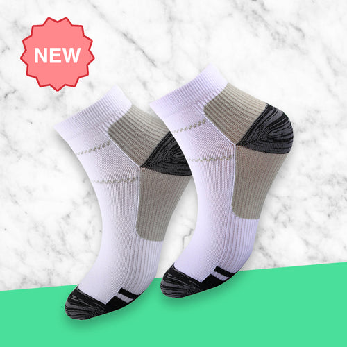 Active Grey Compression Socks