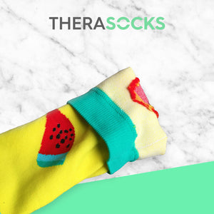 TheraSocks Knee High - Happy Watermelon - TheraWear