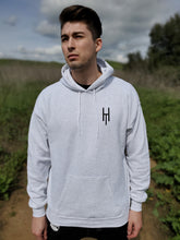 "Load image into Gallery viewer, Light Steel Classic ""HTM"" Hoodie"