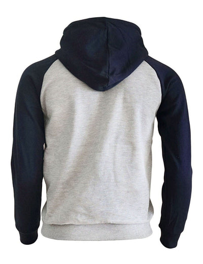 sweat capuche viking rbleu