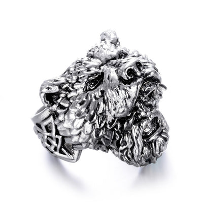 bague viking ours