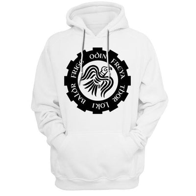 sweat viking munin blanc 2