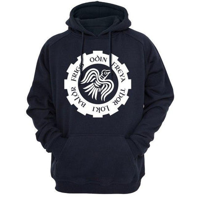 "Sweat  capuche "" Munin"""