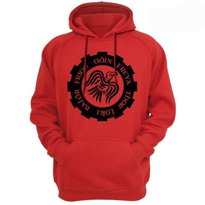 sweat viking munin rouge 2