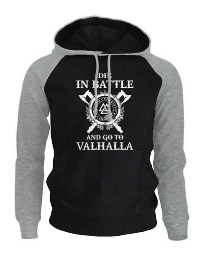 sweat capuche viking noire viking