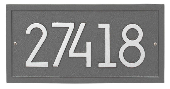 Modern Address Plaques