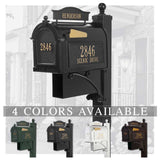 Personalized Whitehall The Ultimate Mailbox & Post Package