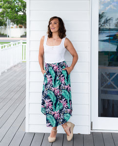 Pink Orchid Maxi Skirt - Ladies