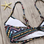 Load image into Gallery viewer, Bohemian Retro Print Bikini