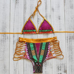 Load image into Gallery viewer, Retro Boho Print Bikini