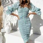 Load image into Gallery viewer, Boho Mint Dress