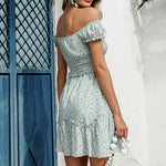 Load image into Gallery viewer, Bohemian Vintage Polka Dot Dress