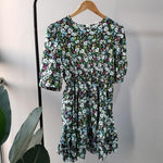 Load image into Gallery viewer, Cherry Blossom Mini Boho Dress