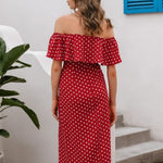 Load image into Gallery viewer, Boho Off Shoulder Set