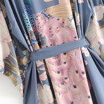 Load image into Gallery viewer, Bohemian Thai Flowers Kimono