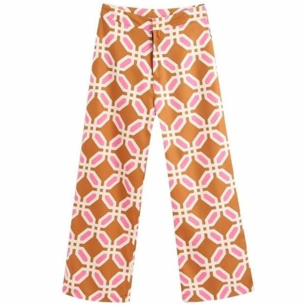 Hippie Chic Print Pants