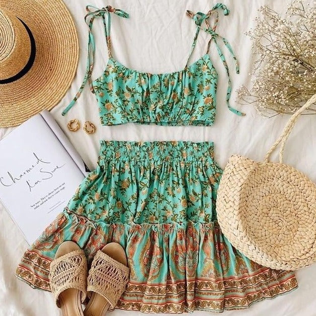 Boho Inspired Two Piece Set