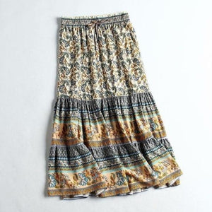 Bohemian Beach Summer Skirt