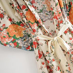 Load image into Gallery viewer, Bohemian Flower Kimono