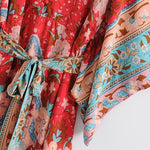Load image into Gallery viewer, Vintage Chic Bohemian Kimono  Dress