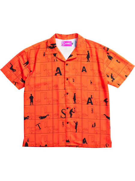 CELL SHIRT ORANGE