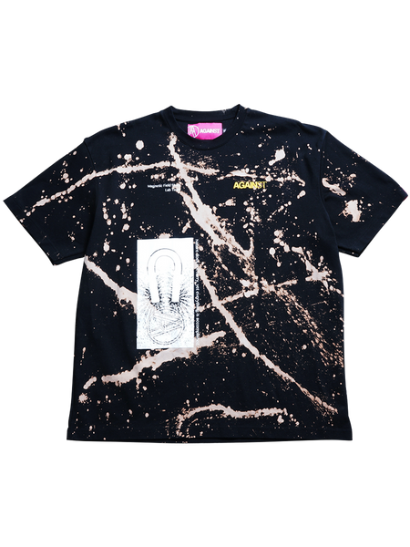 BLEACH DYED TEE (2X-LARGE)