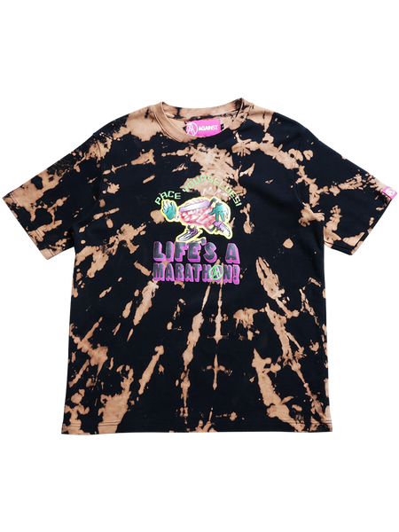BLEACH DYED TEE 3 (LARGE)