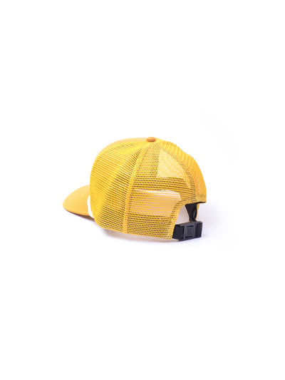 DEMOLITION SERVICES TRUCKER YELLOW