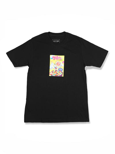CHAOS POPS TEE BLACK