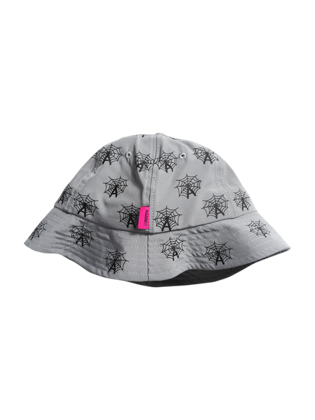 WEB BUCKET HAT GREY