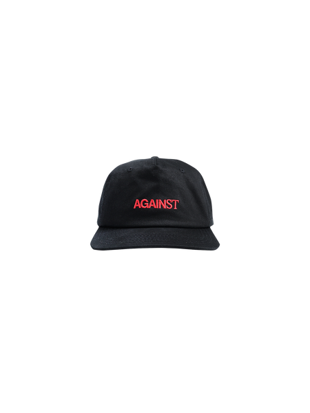 WORD LOGO 5 PANEL CAP BLACK