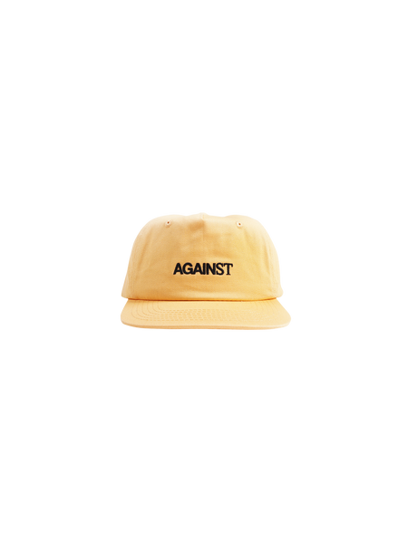 WORD LOGO 5 PANEL CAP MUSTARD