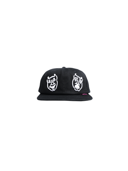 MASKS 6 PANEL CAP BLACK