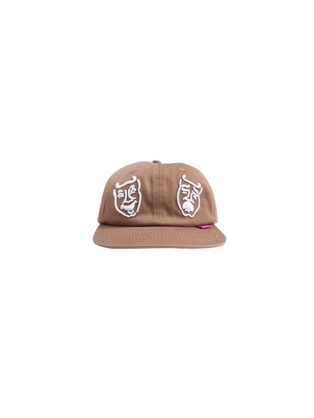MASKS 6 PANEL CAP BROWN