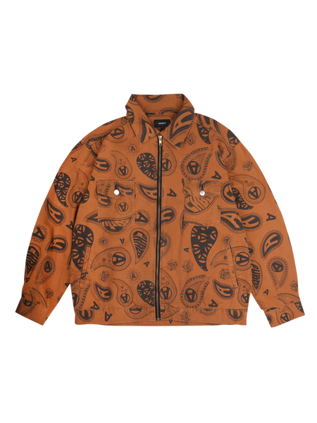 PAISLEY GARAGE JACKET