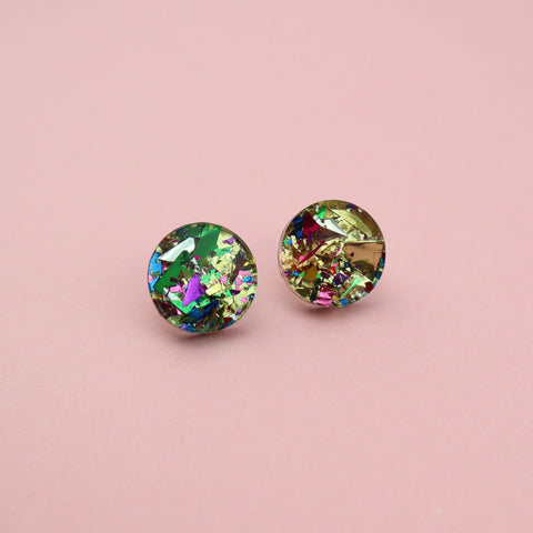 Stocking Filler Studs - Gold Rounds