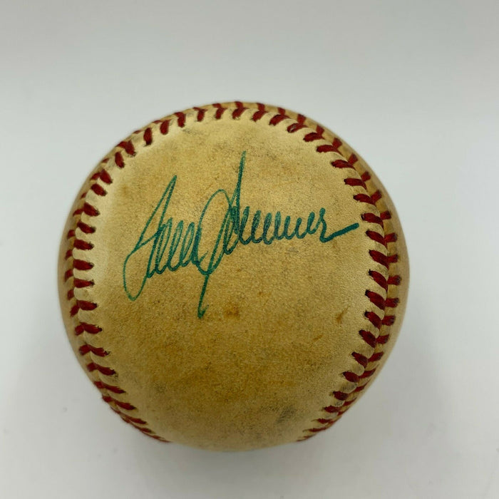 Tom Seaver Signed Game Used American League Baseball From 8-9-1984 With JSA COA