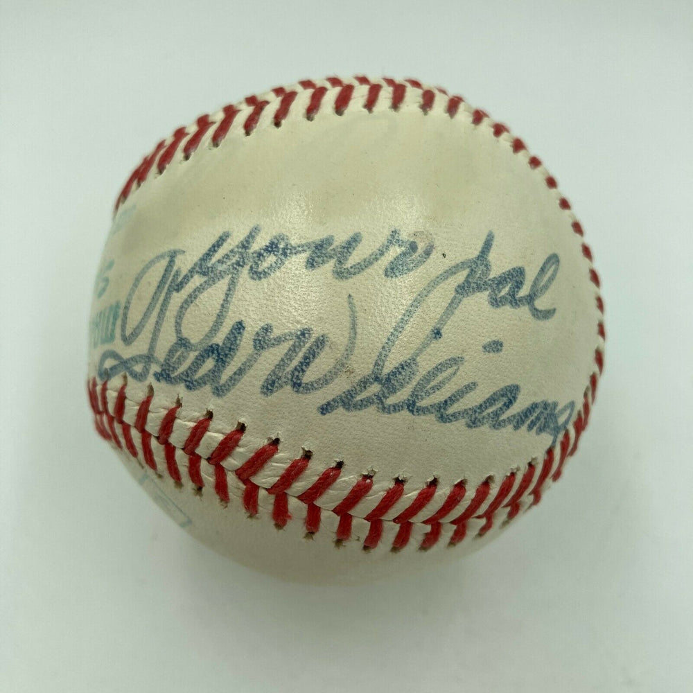 1960's Ted Williams Signed Vintage Ted Williams Model Baseball PSA DNA COA