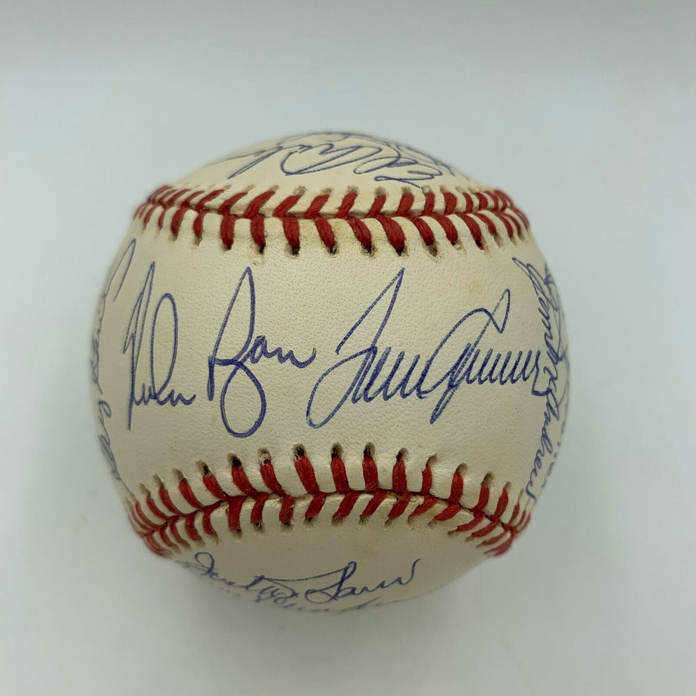 1969 New York Mets WS Champs Team Signed Baseball Tom Seaver Nolan Ryan JSA COA