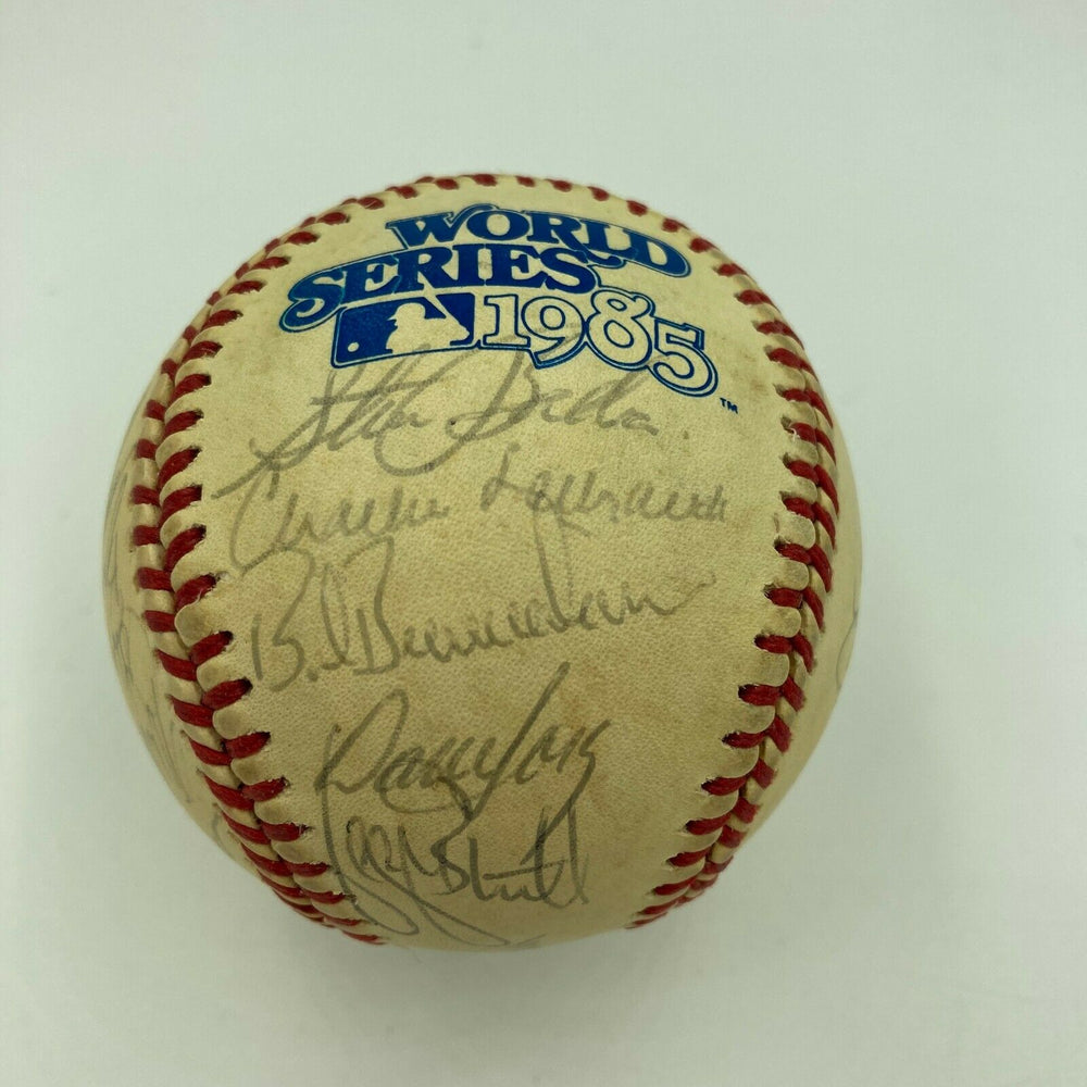 1985 Kansas City Royal World Series Champs Team Signed Baseball With JSA COA
