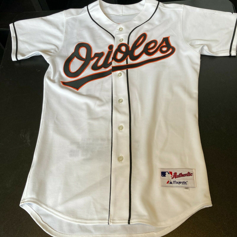 Cal Ripken Jr. Signed Game Issued 1990's Baltimore Orioles Jersey PSA DNA COA